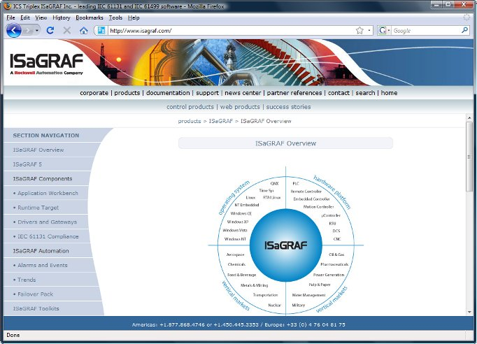 ISaGRAF Automation Software Technology